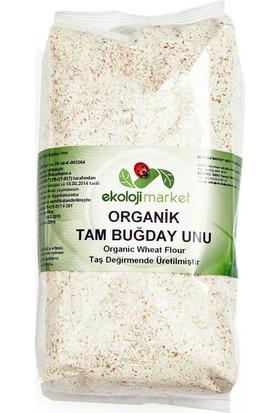 Ekoloji Market Organik Tam Buğday Unu 1 Kg.