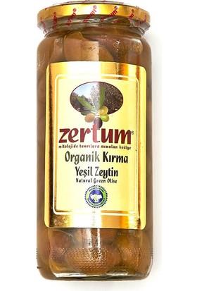 Zertum Organik Kırma Yeşil Zeytin 760 Gr.