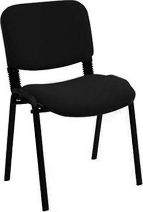 Dovi Form Sandalye - Siyah 5li