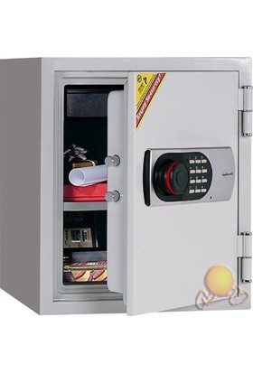 Eurosafe 125EN Elektronik Şifreli Kasa (yangına Dayanıklı)