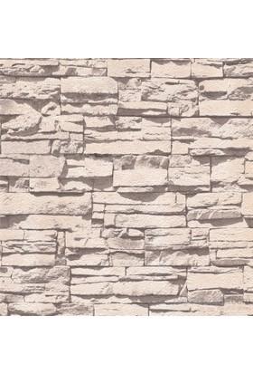 Emboss 288 Yeni Taş Gri Duvar Kağıdı
