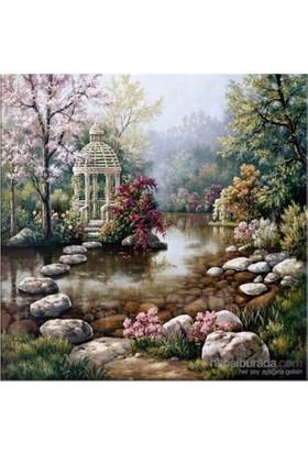 Gizli Bahçe Kanvas Tablo