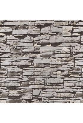 Emboss 287 Yeni Taş Siyah Duvar Kağıdı