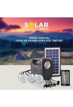 Solar Enerji Panelli Aydınlatma Sistemi