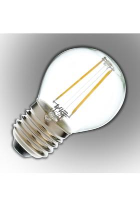 Vialicht 2W(20W) G45-COG Led Filament Damla E27 Ampul 210lm 270° 2700K