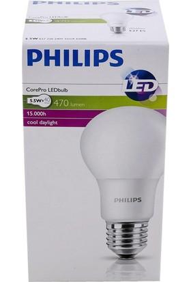 Philips CorePro LEDbulb 5.5-40W Ampul 865 E27