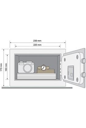 Yale Dijital Mini Boy Kollu Kasa - Siyah - YSV/170/DB1