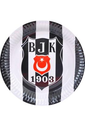 Elitparti Beşiktaş Lisanslı Tabak (8 Adet)