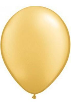 Elitparti Metalik Altın Balon (100 adet)