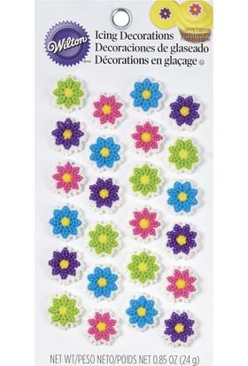 Wilton Wilton Yenilebilir Dekorasyon Şekeri (Çiçek)