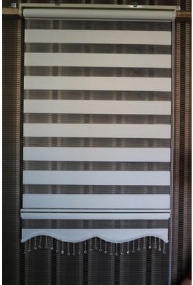 Techstor Avanos Serisi Beyaz Zebra 40 x 200 cm