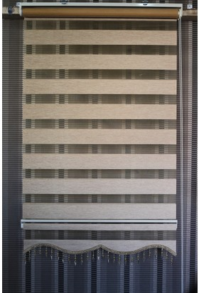 Techstor Avanos Serisi Başak Rengi Zebra 40 x 200 cm