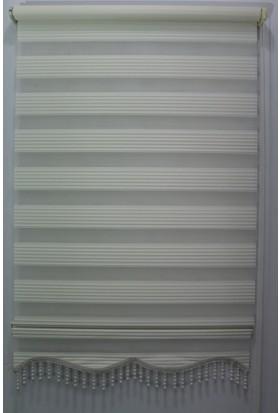 Techstor Dar Plise Krem Zebra 40 x 200 cm