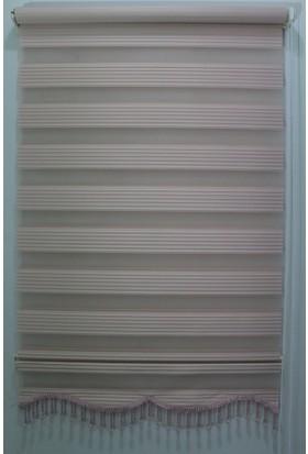 Techstor Dar Plise Pembe Zebra 40 x 200 cm