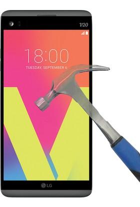 Teleplus Lg V20 Plastik Ve Cam Ekran Koruyucu Karışımı Cam Ekran Koruyucu