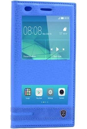 Teleplus Huawei 5C Gt3 Lux Çift Pencereli Kılıf