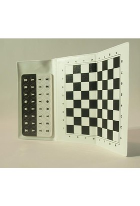 Yeni Satranç Mıknatıslı Cep Satrancı