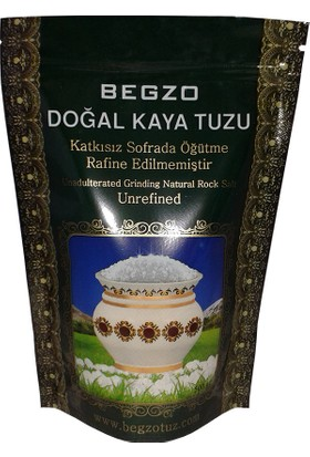 Begzo Doğal Kristal Kaya Tuzu 500 gr (Granül)