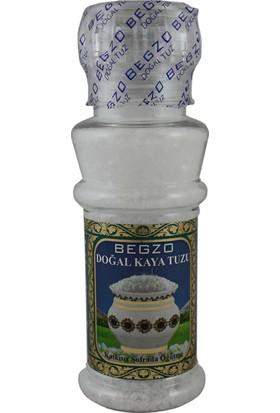 Begzo Seramik Değirmen Kapaklı Doğal Kristal Kaya Tuzu 220 gr