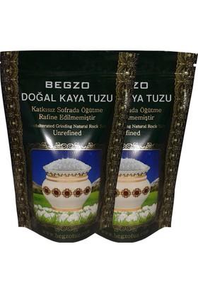 Begzo Doğal Kristal Kaya Tuzu 2 li Paket (Granül)