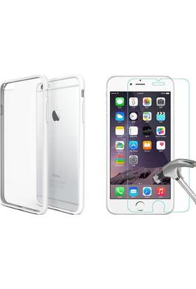 TeknoArea Apple iPhone 6/6s silikon + cam