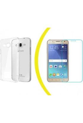 TeknoArea Samsung j3 silikon + cam