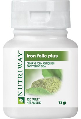 Amway Nutriway Iron Folic Plus 120 Tablet