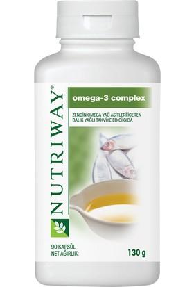 Amway Nutriway Omega 3 Complex 90 Kapsül