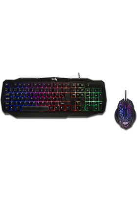 İzoly Z500 Led Oyuncu Klavye Ve Mouse