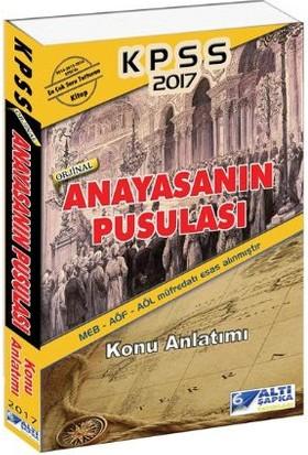 Altı Şapka Yayınları Kpss 2017 Anayasanın Pusulası Konu Anlatımı