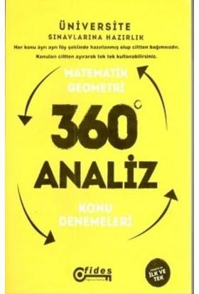 Fides Yayınları Ygs Matematik-Geometri 360 Derece Analiz Konu Denemeleri