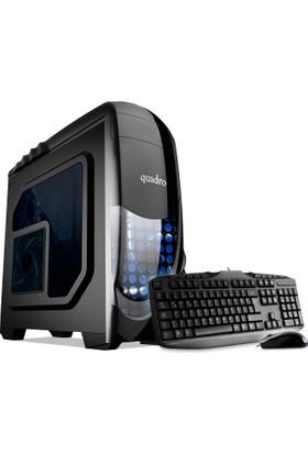 Quadro STT03TR- 50450 Intel Core i3 540 4GB 500GB Freedos Masaüstü Bilgisayar