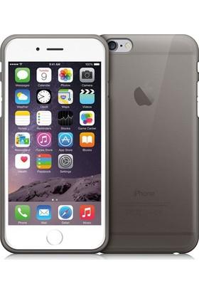 CepToys Apple iPhone 6S Plus Silikon Kılıf Siyah
