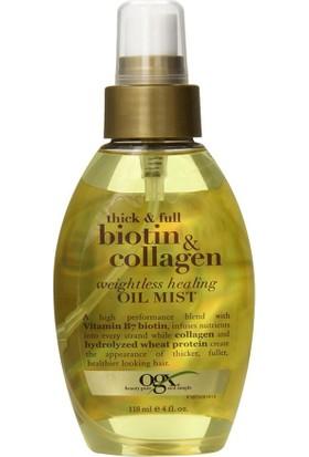 Organix Argan Saç Onarıcı Biotin Collagen 118Ml