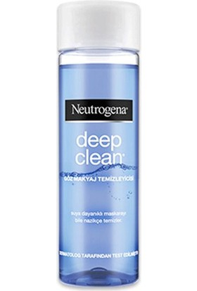 Neutrogena Deep Clean Göz Makyaj Temizleme 125Ml