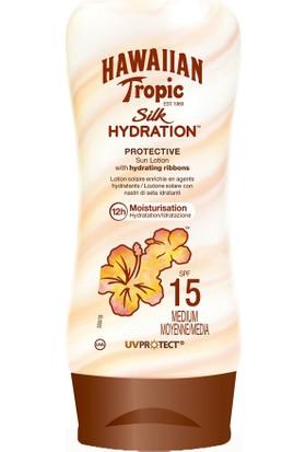 Hawaiian Tropic Lotion Silk Hydration Spf15 180Ml