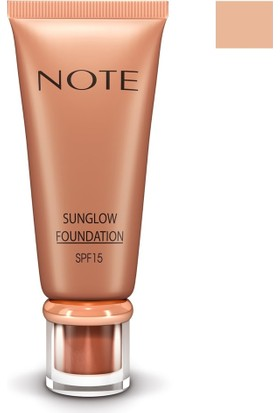 Note Sunglow Fondöten 10 35Ml
