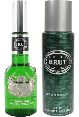 Brut Erkek Madalyon Edt 100Ml+Deodorant 200Ml
