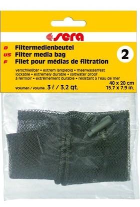 Sera Filter Media Bag 2 Filitre Malzeme Torbası 40x20cm
