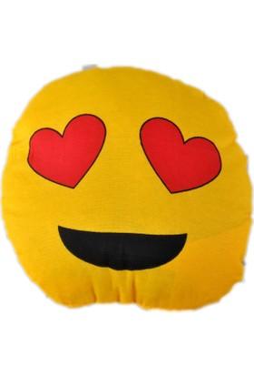Emoji Yastık - Kalp Emoji Yastık