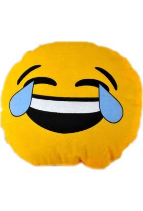 Emoji Yastık - Gülen Emoji Yastık