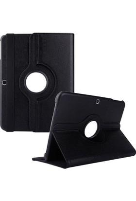 Miray Samsung Galaxy Tab 3 Lite T113 Kılıf Standlı Kasalı - Siyah