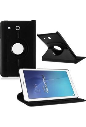 """Miray Samsung Galaxy Tab E Sm T560 9.6"""" 360° Dönebilen Kılıf Siyah"""