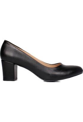 Loggalin 580710 031 014 Kadın Siyah Ayakkabı