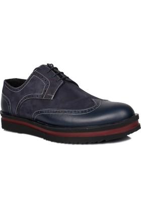 Se-Sa 737502 041 420 Erkek Lacivert Ayakkabı