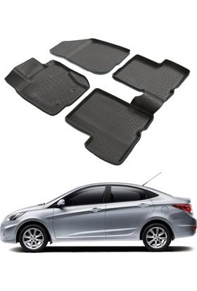 ModaCar Hyundai Accent Blue 3D Havuzlu Paspas 104951