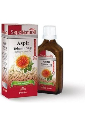 Sepe Natural Sepe Natural Aspir Tohumu Yağı | Cla 50Ml | Safflower Seed Oil Cartham