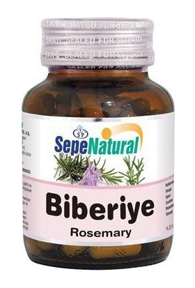 Sepe Natural Sepe Natural Biberiye 90 Kapsül X 380Mg | Rosemary