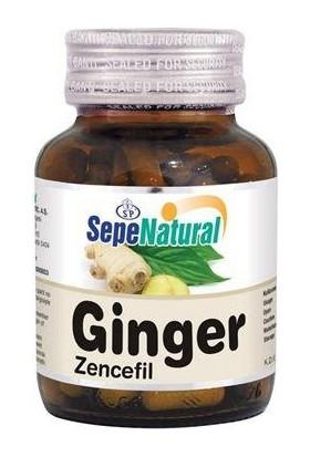 Sepe Natural Sepe Natural Ginger 90 Kapsül X 480Mg | Zencefil