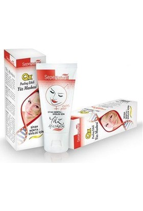 Sepe Natural Sepe Natural Qx Yüz Maskesi Peeling Ve Siyah Noktalar İçin 100 Ml